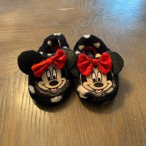 Toddler Minnie slippers